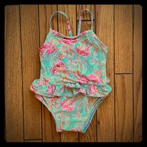 Lilly Pulitzer 12-18M Jellyfish Swimsuit